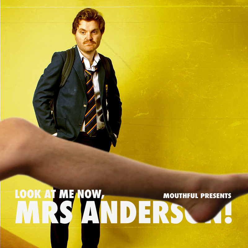 Look at me now, Mrs Anderson! CANCELLED